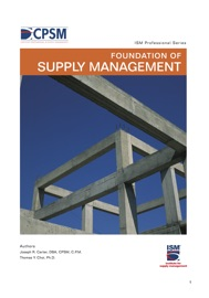 Foundation of Supply Management