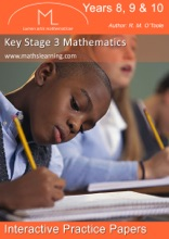 Key Stage 3 Maths Interactive Practice Papers