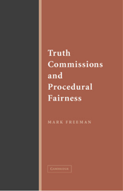 Truth Commissions and Procedural Fairness book