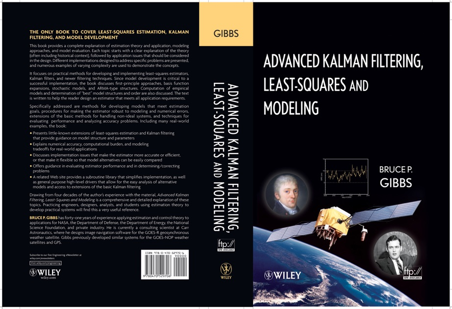 Advanced Kalman Filtering, Least-Squares and Modeling by Bruce P  Gibbs on  Apple Books
