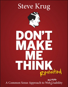 Don't Make Me Think, Revisited Copertina del libro