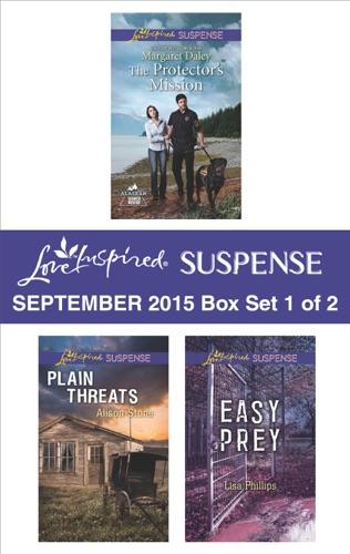 Margaret Daley, Alison Stone & Lisa Phillips - Love Inspired Suspense September 2015 - Box Set 1 of 2