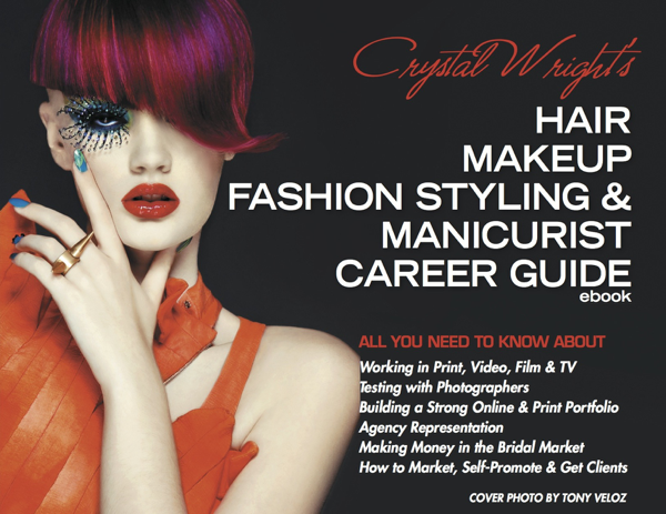 Crystal Wright's Hair Makeup Fashion Styling & Manicurist Career Guide