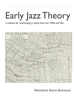 David Burnand - Early Jazz Theory  artwork