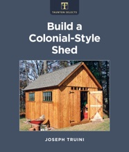 Build A Colonial-Style Shed