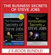 Business Secrets Of Steve Jobs Presentation Secrets And Innovation Secrets All In One Book EBOOK BUNDLE