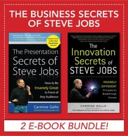 Business Secrets Of Steve Jobs Presentation Secrets And Innovation Secrets All In One Book Ebook Bundle