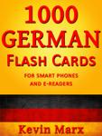 1000 German Flash Cards