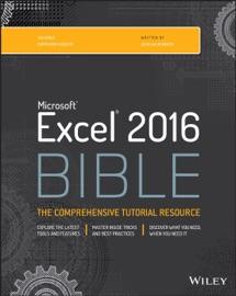 Excel 2016 Bible - John Walkenbach
