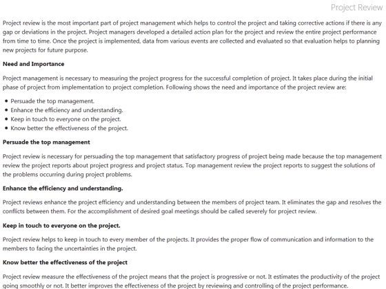 ‎Project Management