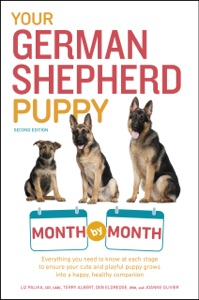 Your German Shepherd Puppy Month by Month, 2nd Edition Book Cover