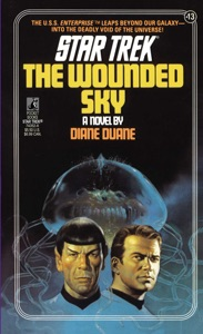 Star Trek: The Wounded Sky Book Cover