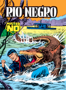 Mister No. Rio Negro Libro Cover