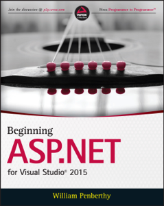 Beginning ASP.NET for Visual Studio 2015 Copertina del libro