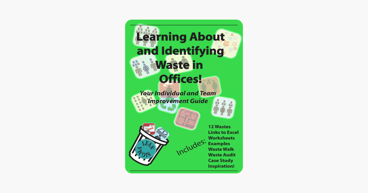 Learning About and Identifying Waste in Offices (With Links to Excel  Worksheets!)