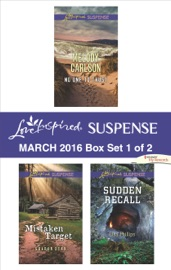 Love Inspired Suspense March 2016 Box Set 1 Of 2