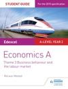 Edexcel Economics A Student Guide Theme 3 Business Behaviour And The Labour Market