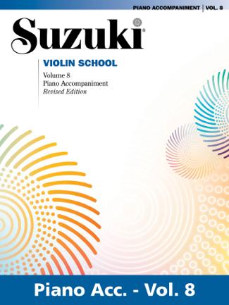 Suzuki Violin School - Volume 8 (Revised) - Dr. Shinichi Suzuki