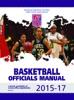 2015-17 NFHS Basketball Officials Manual