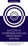 Success At Cambridge English Proficiency Writing