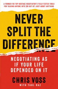 Never Split the Difference Book Cover