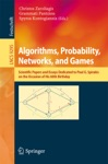 Algorithms Probability Networks And Games