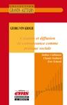 Georg Von Krogh - Cration Et Diffusion De Connaissance Comme Pratique Sociale