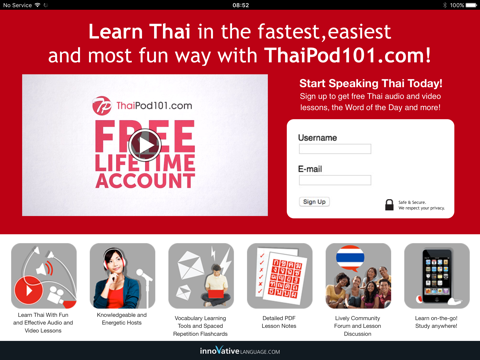 Learn Thai - Word Power 101 by Innovative Language
