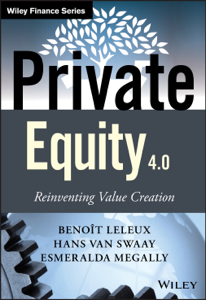 Private Equity 4.0 La couverture du livre martien