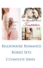 Billionaire Romance Boxed Sets: The Billionaire's Pregnant Secretary\The Billionaire Boss's Temptation (2 Complete Series)