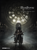 Bloodborne The Old Hunters Collector's Edition Guide Book Cover