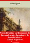 Considrations Sur Les Causes De La Grandeur Des Romains Et De Leur Dcadence