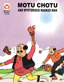 Motu Chotu and Mysterious Masked Man