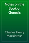 Notes On The Book Of Genesis