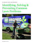Identifying, Solving & Preventing Common Lawn Problems