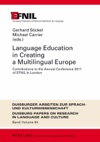 Language Education In Creating A Multilingual Europe
