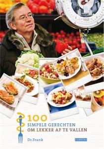 100 simpele gerechten om lekker af te vallen Boekomslag