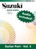 Suzuki Guitar School - Volume 5