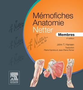 Mémofiches Anatomie Netter - Membres La couverture du livre martien