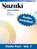 Suzuki Violin School - Volume 7 (Revised)