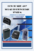 How To Size ANY Solar Photovoltaic System Book Cover