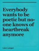 Everybody wants to be poetic