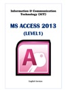 Database MS Access Level 1