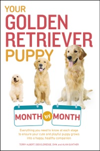 Your Golden Retriever Puppy Month by Month Book Cover