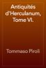 Tommaso Piroli - Antiquités d'Herculanum, Tome VI. artwork