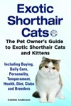 Exotic Shorthair Cats The Pet Owners Guide To Exotic Shorthair Cats And Kittens Including Buying Daily Care Personality Temperament Health Diet Clubs And Breeders