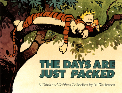 The Days Are Just Packed - Bill Watterson book