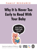 Pamela C. High, MD, FAAP & AAP Council on Early Childhood - Why It Is Never too Early to Read With Your Baby  arte