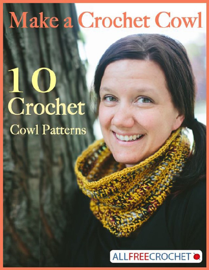 Make a Crochet Cowl: 10 Crochet Cowl Patterns book