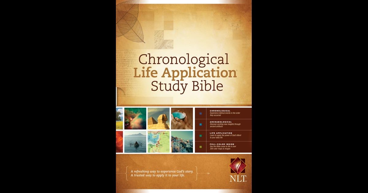 Chronological Bible: Study & Large Print Chronological Bibles